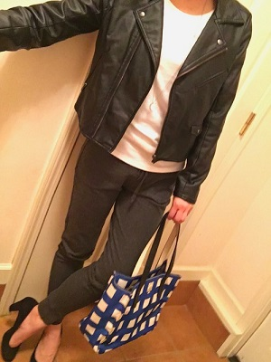 ユニクロ ファッションコーデ1