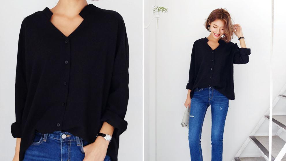 ブラックシャツ