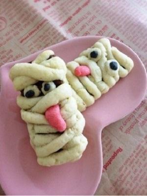 ミイラの巻きクッキー