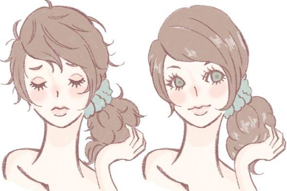 髪の毛の乾燥