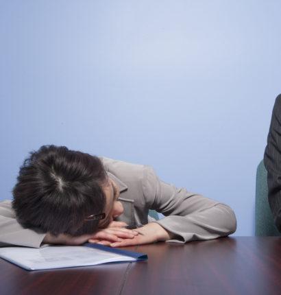 仕事中の眠気