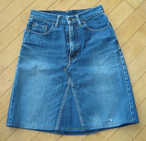 ジーンズスカート
